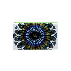 Rose Window Strasbourg Cathedral Cosmetic Bag (XS)