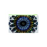 Rose Window Strasbourg Cathedral Cosmetic Bag (XS) Back