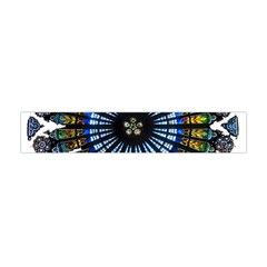 Rose Window Strasbourg Cathedral Flano Scarf (Mini)