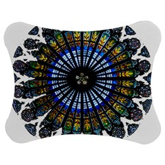 Rose Window Strasbourg Cathedral Jigsaw Puzzle Photo Stand (Bow)