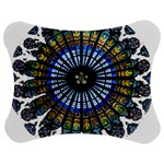 Rose Window Strasbourg Cathedral Jigsaw Puzzle Photo Stand (Bow) Front
