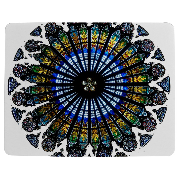 Rose Window Strasbourg Cathedral Jigsaw Puzzle Photo Stand (Rectangular)