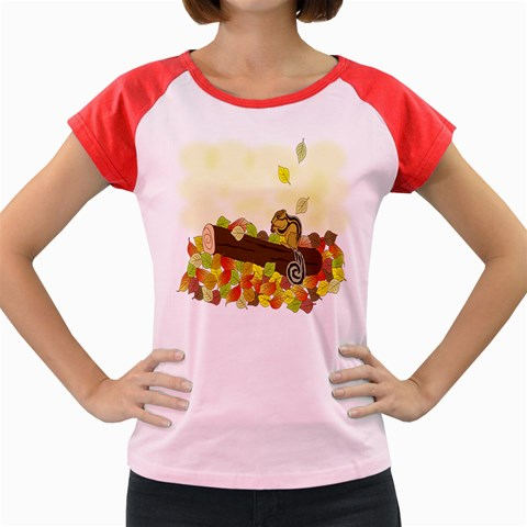 Squirrel  Women s Cap Sleeve T-Shirt
