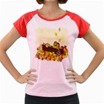 Squirrel  Women s Cap Sleeve T-Shirt Front