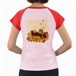 Squirrel  Women s Cap Sleeve T-Shirt Back