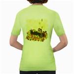 Squirrel  Women s Green T-Shirt Back