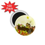 Squirrel  1.75  Magnets (100 pack)  Front