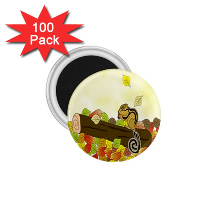 Squirrel  1.75  Magnets (100 pack)