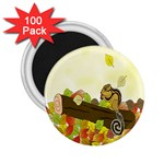 Squirrel  2.25  Magnets (100 pack)  Front