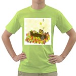Squirrel  Green T-Shirt Front