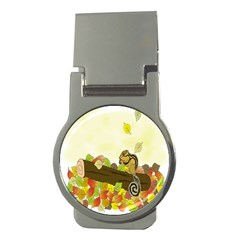 Squirrel  Money Clips (Round)