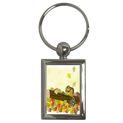 Squirrel  Key Chains (Rectangle)