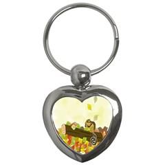 Squirrel  Key Chains (Heart)