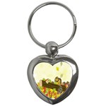 Squirrel  Key Chains (Heart)  Front