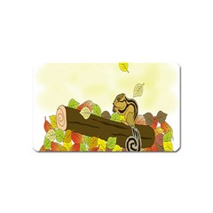Squirrel  Magnet (Name Card)