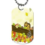 Squirrel  Dog Tag (Two Sides) Back