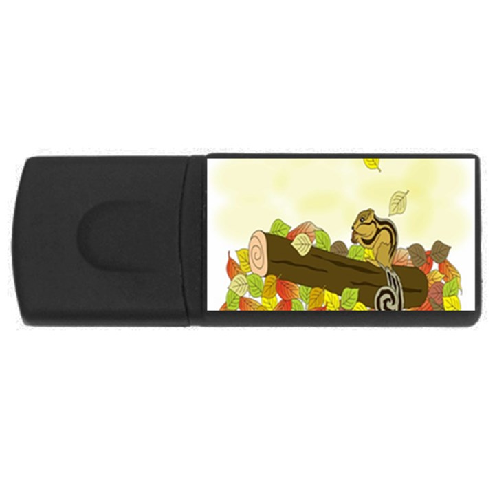 Squirrel  USB Flash Drive Rectangular (2 GB)