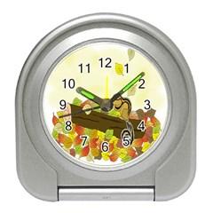Squirrel  Travel Alarm Clocks