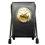 Squirrel  Pen Holder Desk Clocks Front