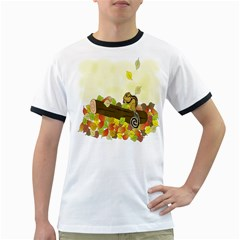 Squirrel  Ringer T-Shirts