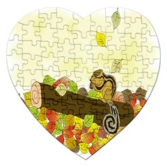 Squirrel  Jigsaw Puzzle (Heart)