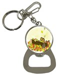 Squirrel  Bottle Opener Key Chains Front