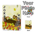 Squirrel  Playing Cards 54 Designs  Front - Joker1