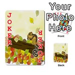 Squirrel  Playing Cards 54 Designs  Front - Joker2