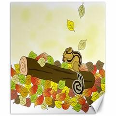 Squirrel  Canvas 20  x 24