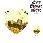 Squirrel  Playing Cards 54 (Heart)  Front - Spade3