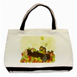 Squirrel  Basic Tote Bag (Two Sides) Back