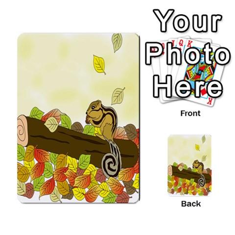Squirrel  Multi-purpose Cards (Rectangle)