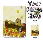 Squirrel  Multi-purpose Cards (Rectangle)  Back 1