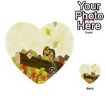 Squirrel  Multi-purpose Cards (Heart)  Front 2