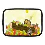 Squirrel  Netbook Case (Medium)  Front
