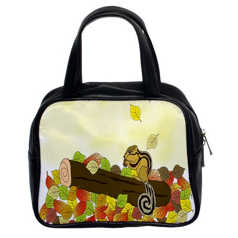 Squirrel  Classic Handbags (2 Sides)