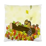 Squirrel  Standard Cushion Case (Two Sides) Back