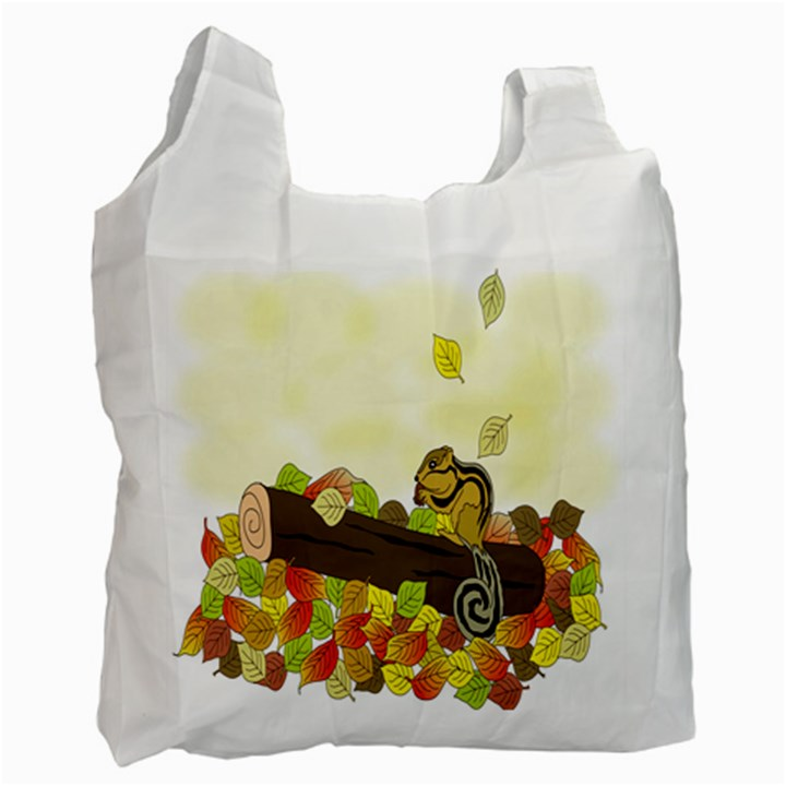 Squirrel  Recycle Bag (One Side)