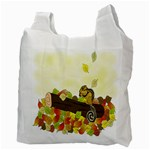 Squirrel  Recycle Bag (Two Side)  Back