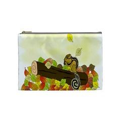 Squirrel  Cosmetic Bag (Medium)