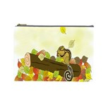 Squirrel  Cosmetic Bag (Large)  Front