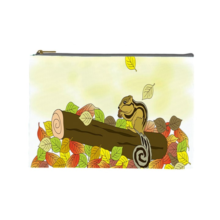 Squirrel  Cosmetic Bag (Large)