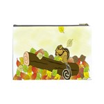 Squirrel  Cosmetic Bag (Large)  Back