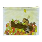 Squirrel  Cosmetic Bag (XL) Back
