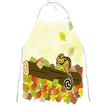 Squirrel  Full Print Aprons Front