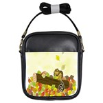 Squirrel  Girls Sling Bags Front