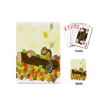 Squirrel  Playing Cards (Mini)  Back