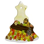 Squirrel  Christmas Tree Ornament (2 Sides) Back