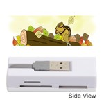 Squirrel  Memory Card Reader (Stick)  Front