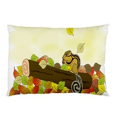 Squirrel  Pillow Case (Two Sides)